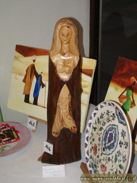 Sacre du Printemps ; Sculpture en If.