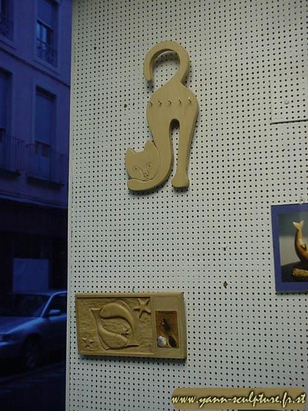 Porte clé et petit tableau